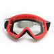 Red/Black Combat Goggles - 2601-2077