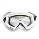 White/Black Combat Goggles - 2601-2079