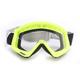 Flo Green/Black Combat Goggles - 2601-2080