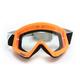 Flo Orange/Black Combat Goggles - 2601-2081