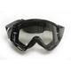 Black/White Combat Sand Goggle - 2601-2083