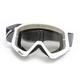 White/Black Combat Sand Goggle  - 2601-2085