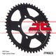 Rear C49 High Carbon Steel Sprocket - JTR823.46