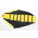 Black/Yellow/Black Pro Rib Kevlar Seat Cover - 45504