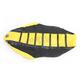 Black/Yellow/Black Pro Rib Kevlar Seat Cover - 45505