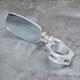 Silver RZR 1000 4x2 Folding Mirror - 60-300-5