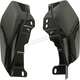 Vivid Black Mid-Frame Air Deflectors - HW159112
