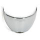 Chrome Face Shield for Metro Helmets - 02-713