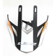 Orange/Black/White for Fast Race Helmets - 02-931