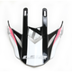 Pink/Black/White Visor for Fast Race Helmets - 02-932