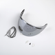 Silver Mirror Face Shield for K1R Helmets - 3817-000-000-002