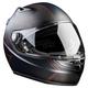 Matte Black/Meridian Red K1R Helmet