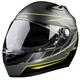 Matte Black/Discern Hi-Vis K1R Helmet