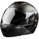 Skyline Matte Black TK1200 Helmet