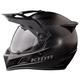 Stealth Matte Black Krios Karbon Adventure Helmet w/Sena 10U Comm