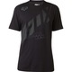 Black Seca Wrap T-Shirt
