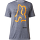 Heather Graphite Kamakana Tech T-Shirt