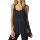 Women's Black Miss Clean Racer Tank