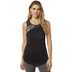 Women's Black Activated Muscle Tank Top