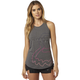 Women's Heather Gray Eyecon T Back Tank Top