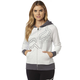 Women's Light Heather Gray Eyecon Zip Hoody