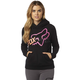 Women's Black Reacted Hoody