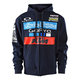 Navy 2017 Team KTM Zip-Up Hoody