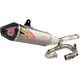 Ti-6 Pro Titanium Exhaust System w/Carbon Fiber End Cap - 0331645FP