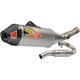 Ti-6 Titanium Exhaust System w/Carbon End Cap - 0321745FP