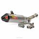T-6 Stainless Steel Slip-On Muffler w/Removable Spark Arrestor - 0131725G
