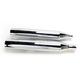Chrome Oversized 450 Titan Slip-On Mufflers - 16650