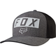 Heather  Graphite Moth Stacked Flex-Fit Hat