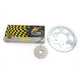 525ZRP Z-Ring Chain and Sprocket Kit - 7ZRP/110KKA020