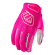 Youth Flo Pink Air Gloves