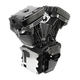 T111 Long Block Black Engine - 310-0830