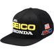 Black Geico Honda Podium Snapback Hat - 20900-001-01