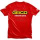 Red Geico Honda Standard T-Shirt