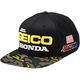 Camo Geico Honda Podium Snapback Hat - 20900-064-01
