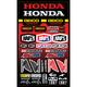 Geico Honda Decal Sheet - 70009-001-01