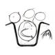 Black Pearl Caliber Handlebar Installation Kit for 16 in. Ape Hanger Bars - 48827-116