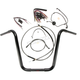 Black Pearl Caliber Handlebar Installation Kit for 16 in. Ape Hanger Bars - 48830-116