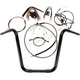 Black Pearl Caliber Handlebar Installation Kit for 16 in. Ape Hanger Bars - 48831-116
