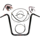 Black Pearl Caliber Handlebar Installation Kit for 16 in. Ape Hanger Bars - 48836-116