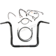 Black Pearl Caliber Handlebar Installation Kit for 14 in. Bagger Bars - 48868-214