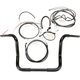 Black Pearl Caliber Handlebar Installation Kit for 12 in. Bagger Bars - 48869-212