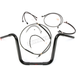 Black Pearl Caliber Handlebar Installation Kit for 12 in. Ape Hanger Bars - 48877-112