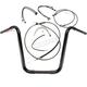 Black Pearl Caliber Handlebar Installation Kit for 16 in. Ape Hanger Bars - 48877-116