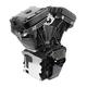 T124 Low Compression Long Block Black Engine - 310-0832