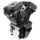 T143 Long Block Black Engine - 310-0901