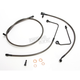 Replacement Midnight Series Brake Line Kit For Use w/Mini Ape Hangers w/ABS - LA-8151B08M